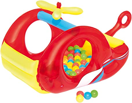 Piscina de Bolas Hinchable Bestway Helicóptero: Amazon.es ...