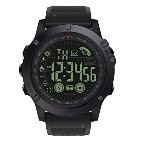 Grado Militar Super Resistente Reloj Inteligente Deportes al Aire Libre Reloj parlante Reloj Digital para Hombres