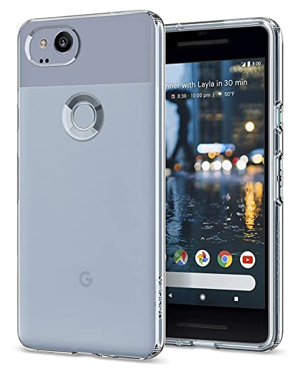 reputable site 3b0f6 73362 Spigen Liquid Crystal Designed for Google Pixel 2 Case (2017) - Crystal  Clear