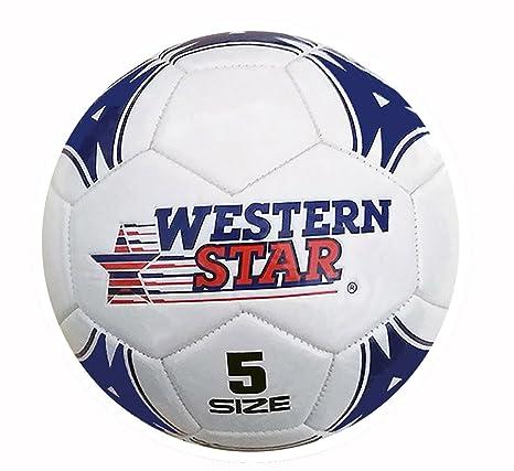 Premium tamaño oficial balón de fútbol), color rojo: Amazon.es ...