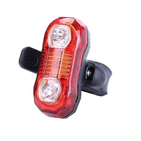 Led Bike Cycling Rear Lights Waterproof Warning Safety Flashing Tail Light