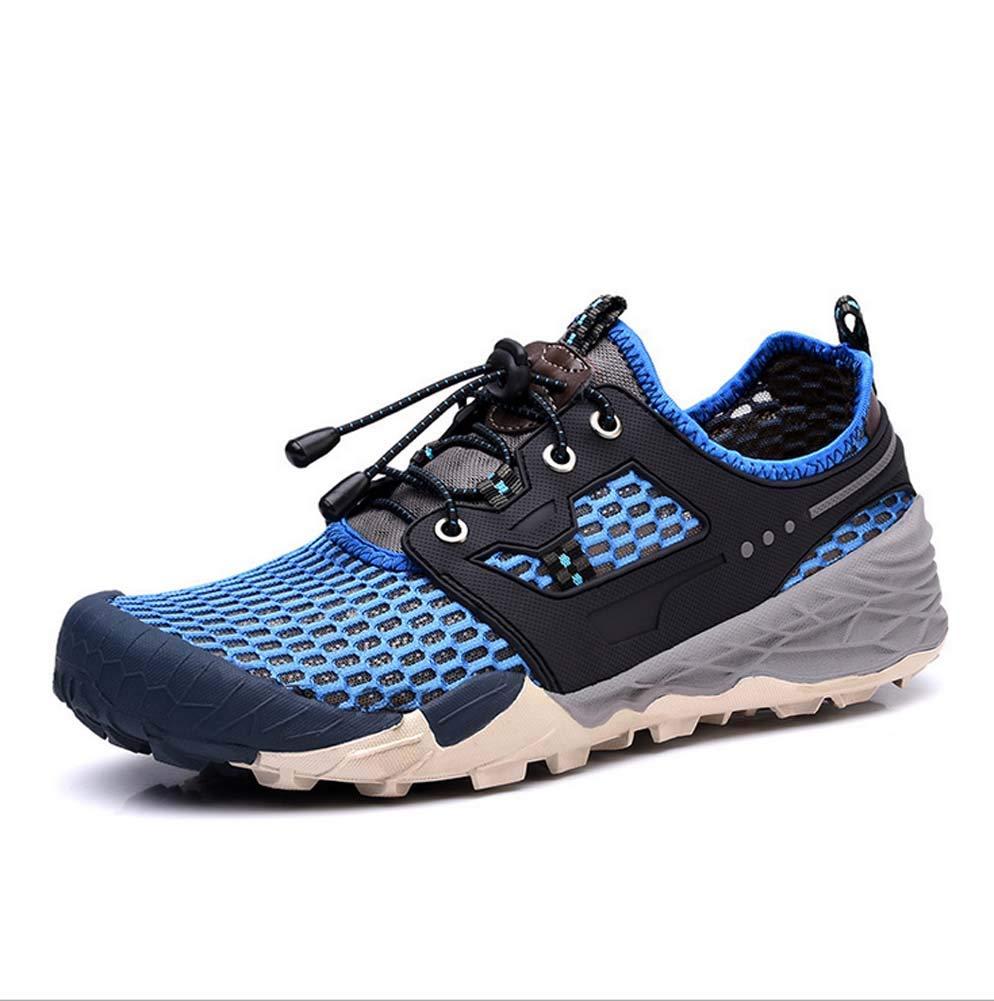 Herren Wanderschuhe,Outdoor Turnschuhe Bergsteigen Sandalen Atmungsaktive Hohle Schuhe Sommer Wandern Wading Strand Schuhe