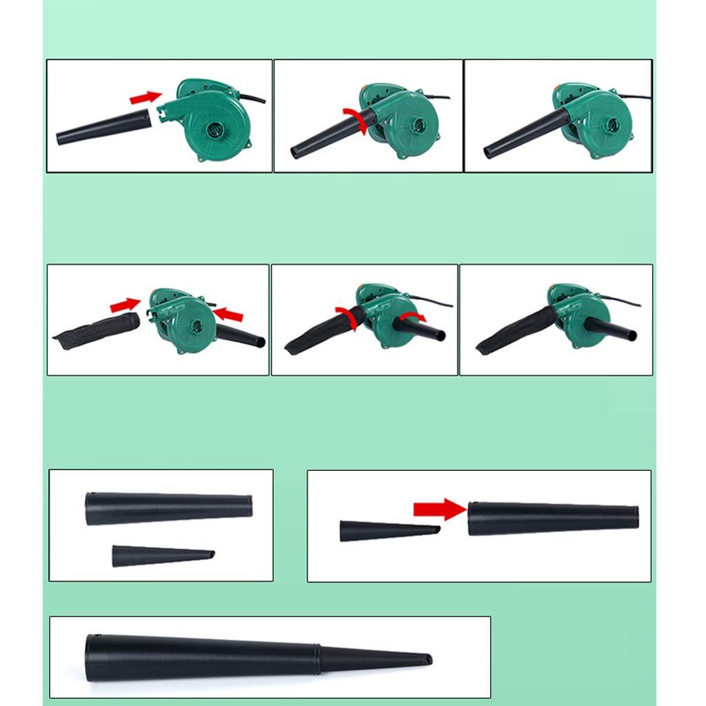 Soplador de hojas port/átil aspiradora dom/éstica precipitador de aire doble de la industria del pl/ástico de ingenier/ía ABS patio motor de cobre completo control de velocidad de 6 velocidades