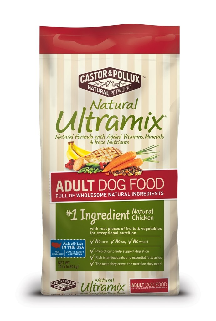 15-Pound Natural Ultramix Adult Dry Dog Food, 15-Pound