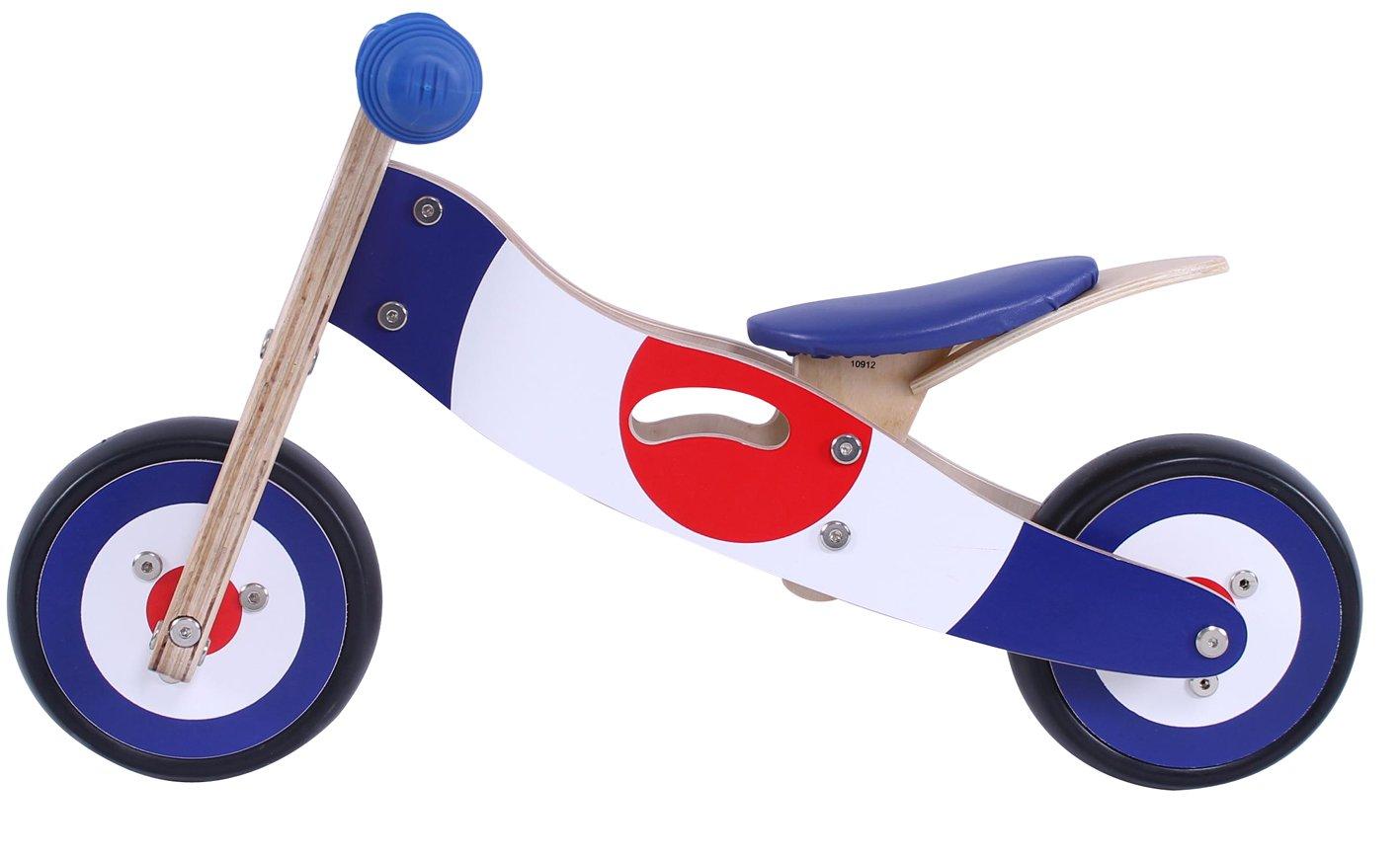 Diddi Jiggy Mini Wooden Balance Bike Toys Games