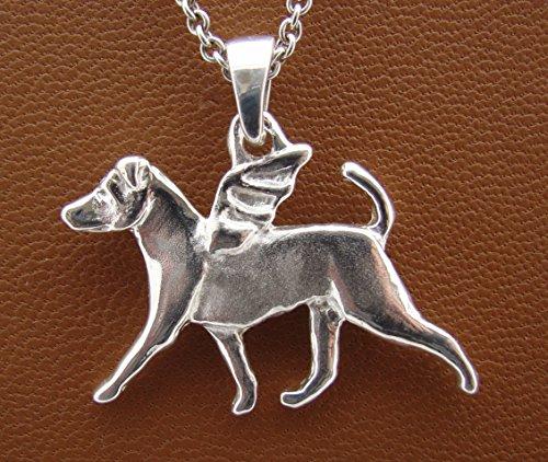Russell Terrier Angel Pendant ()