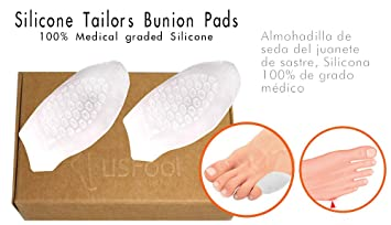 USFOOT 100% Silicon Gel Little Toe Bunionnete Protector, tailors bunion protector, toe bunion