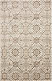Modern Vintage Inspired Area Rugs Cream 5′ x 8′ FT Himalaya Collection Rug – rugs for living room – rugs for dining room & bedroom – Floor Carpet For Sale