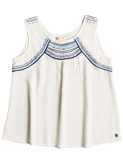 Roxy Dotty Folk - Top Sin Mangas para Chicas, Color: MARSHMELLOW ...