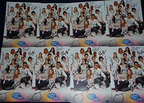 american-idol-live-tour-2010-cast-signed-promo-photo-dewyze-bowersox-james-w-coa