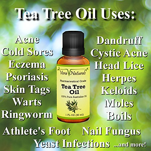 Amazon.com: 100% Pure Australian Tea Tree Oil (Melaleuca ...