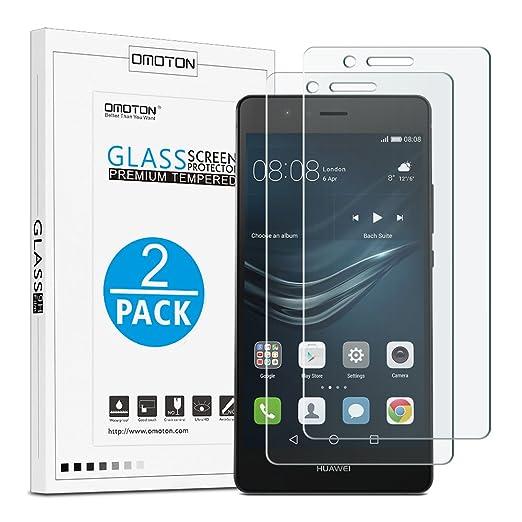 23 opinioni per OMOTON [2-Pezzi] Pellicole protettive per Huawei P9 Lite Pellicola in vetro