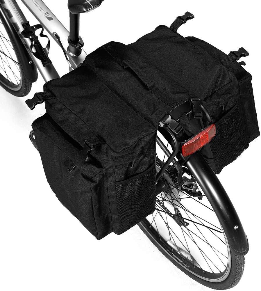 37L cargo sedile posteriore Docooler 3-IN-1 Borsa multifunzione per bicicletta borsa per bicicletta borsa per bagagli bici da corsa mountain bike