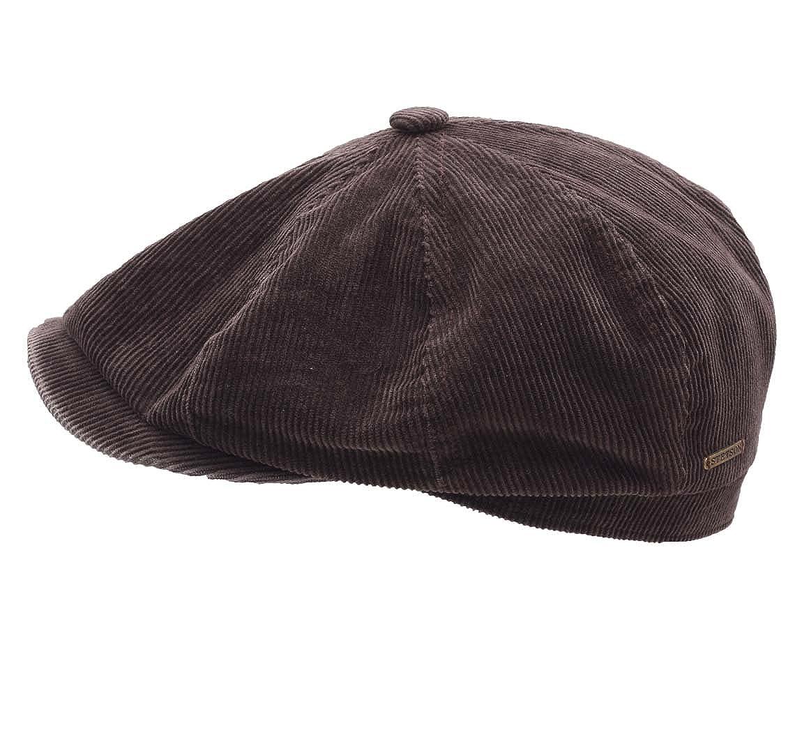 Stetson Men s Hatteras Corduroy Flat Cap Size S at Amazon Men s Clothing  store  9022b0e1b5c