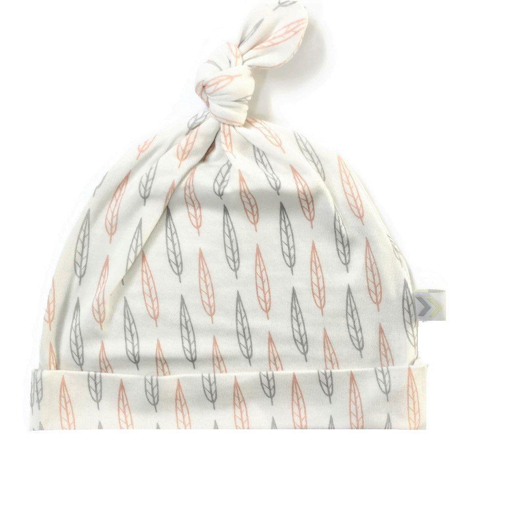 bestaroo Baby Girl Hat in Pink Leaves