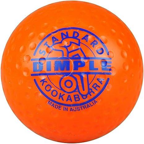 Pelota de hockey Kookaburra Dimple, estándar, naranja: Amazon.es ...