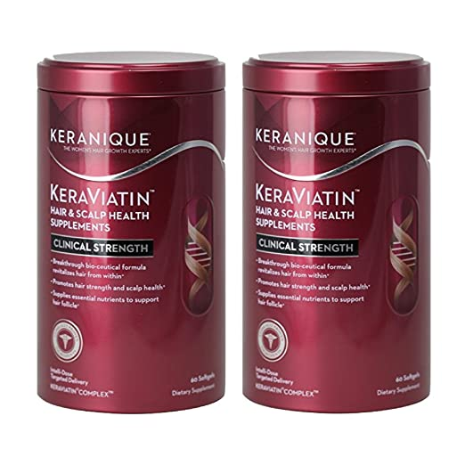Keranique KeraViatin Hair & Scalp Health Supplement (120 Softgels)