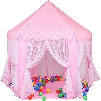 DeceStar Cute Pink Princess Castle Kids Indoor Playhouse  sc 1 st  Amazon.ca & DeceStar Cute Pink Princess Castle Kids Indoor Playhouse Play ...