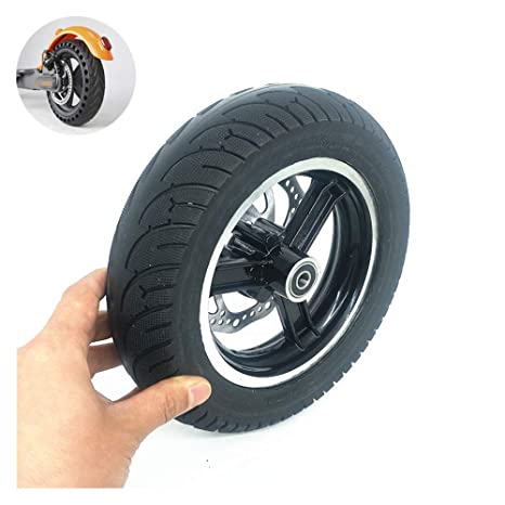 XULONG Neumático de Scooter eléctrico, Rueda Completa sólida ...