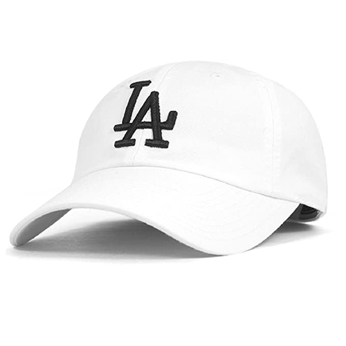 5aaca63fab5fa9 Amazon.com : American Needle Los Angeles Dodgers Ballpark Hat in White :  Clothing