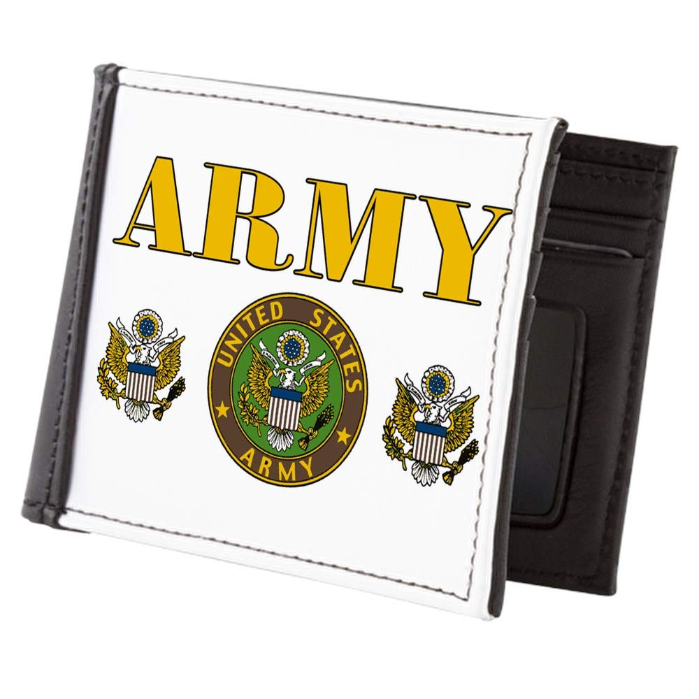 Royal Lion Mens Wallet Billfold United States US Army Military Seal