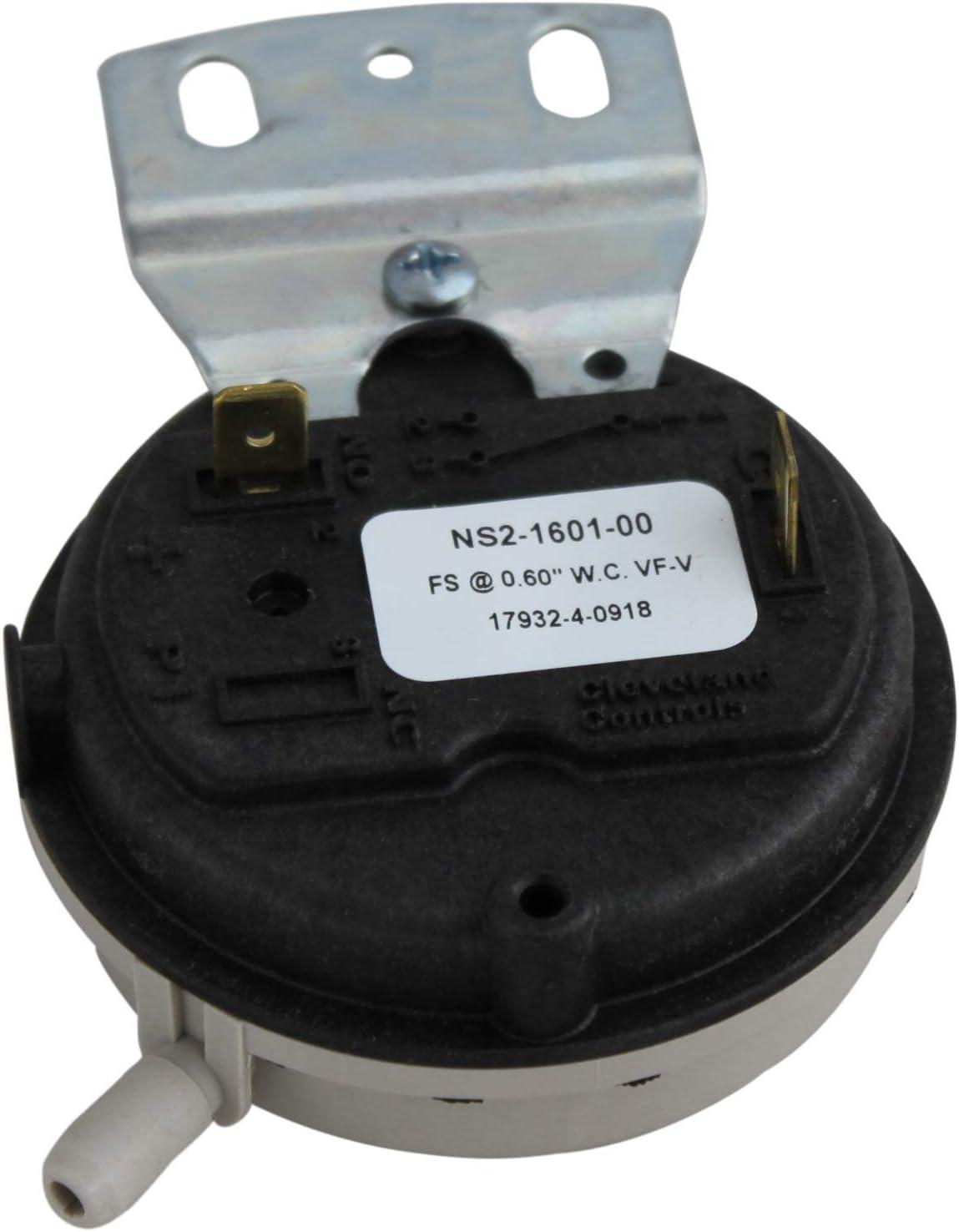NBK 20246 - Furnace Air Pressure Switch - 20197310