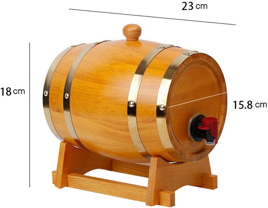 QINYUP Negrita Roble del Barril de Vino 1.5L 3L 5L 10L litros ...