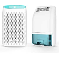 Hysure Dehumidifier 700ml Compact and Portable for Damp Air, Mold, Moisture in Home, Kitchen, Bedroom, Office-Blue Green