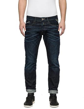 Replay Men s Waitom Regular Slim Fit Jeans 05bd7486ea8