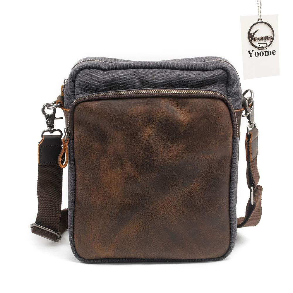 esclusivo Yoome messenger messenger messenger bag, borsa a tracolla vintage in tela a tracolla per uso quotidiano  migliori prezzi e stili più freschi