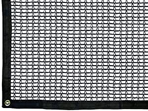 RSI K-SC518-30 Knitted Shade Clothes with Grommets 30-Percent Shade Protection, 5' x 18'