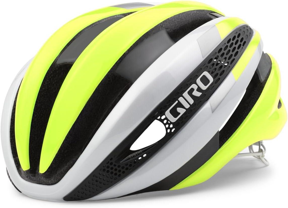 Giro Synthe Helmet White Highlight Yellow, S