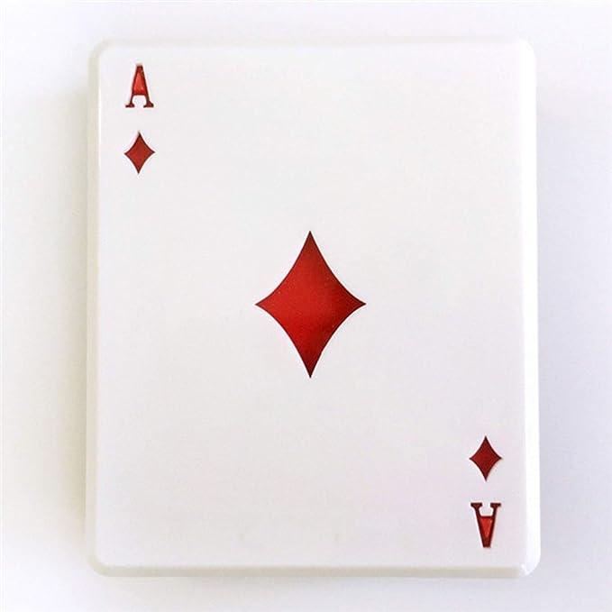 Amazon.com: 1 juego de estuche para lentes de Poker Card ...