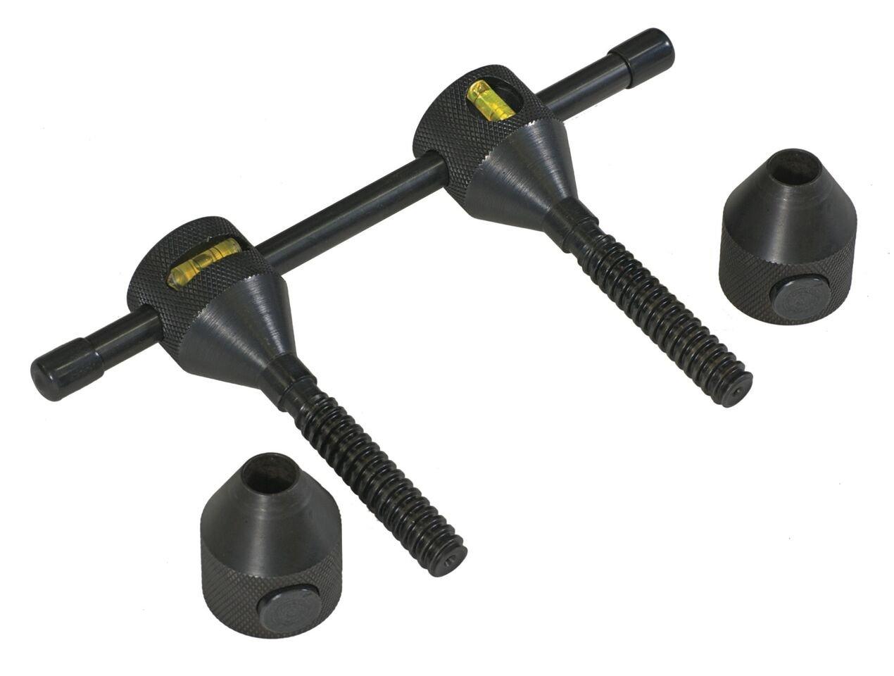 Sumner Manufacturing 781240 Flange Leveler, Steel Pins with Levels, 5/8'' - 1-5/8'', Sold per Pair
