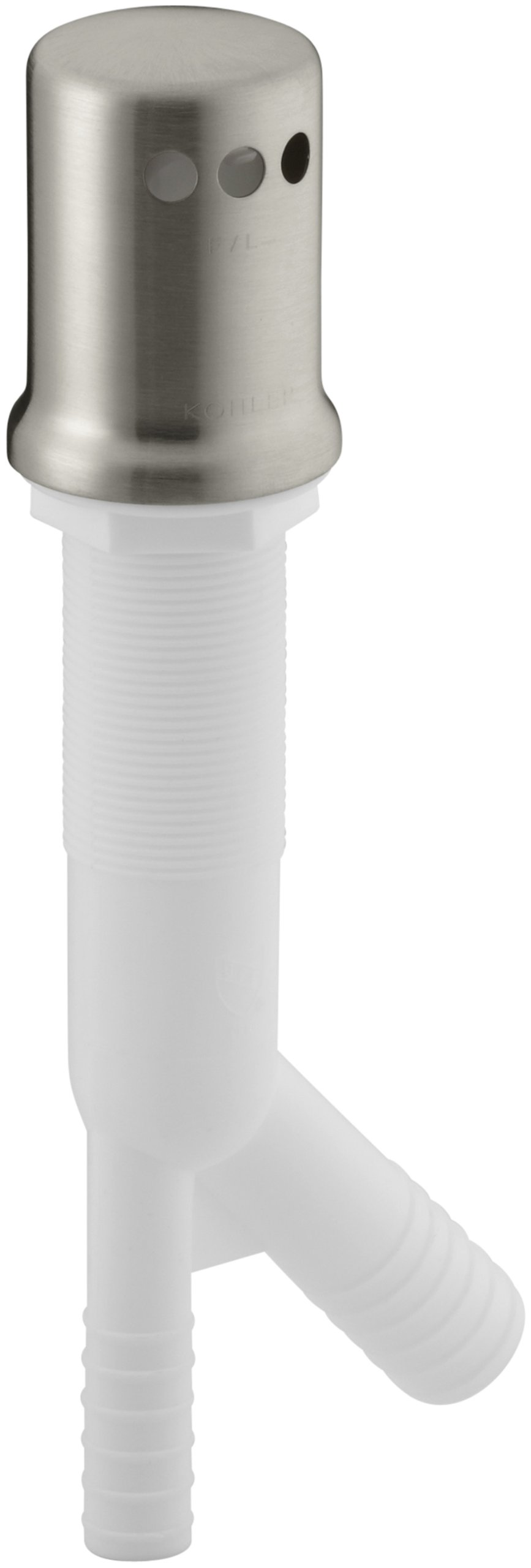 KOHLER K-9110-BN Air Gap Body with Cover, Vibrant Brushed Nickel