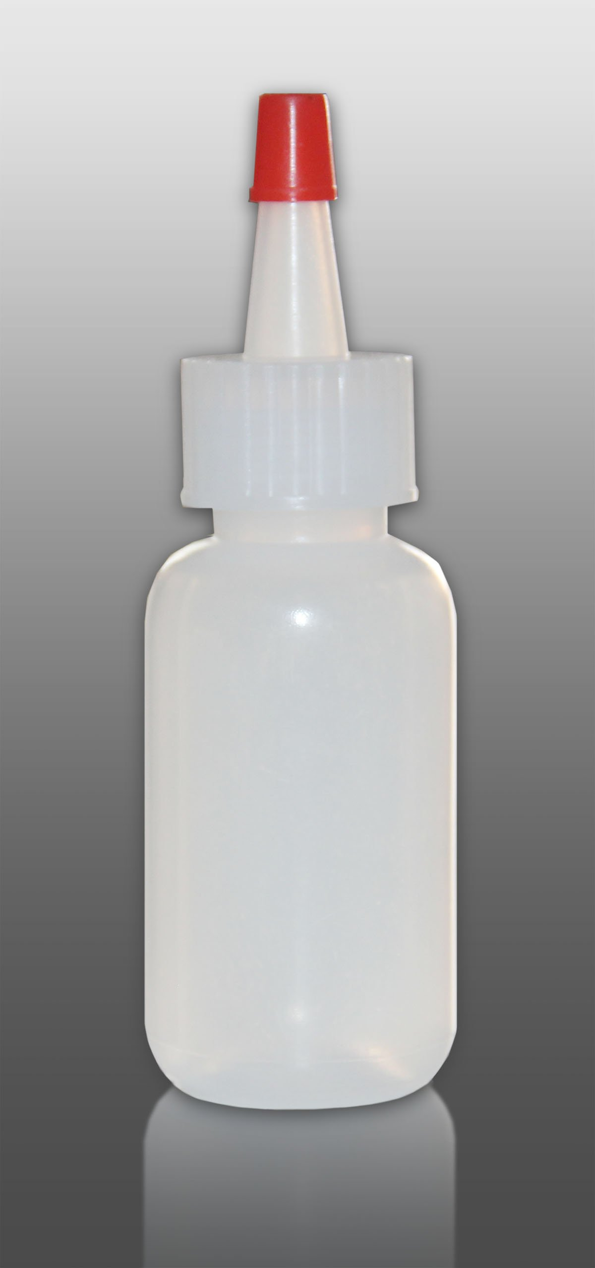 Sponix BioRx Yorker Bottle - .25 oz - LDPE - Spout Cap - Qty 25 (Cake Decorating, Hair Dye, Liquid Container)