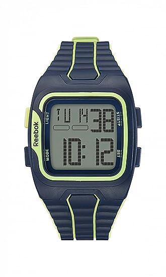 Reloj de Reebok rfws1g9plpl - - del entrenamiento MB SZ1 de color gris, verde de