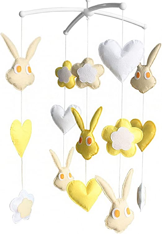 **HANDMADE** RABBITS MOBILE