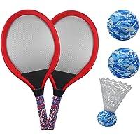 YIMORE Raquetas de Tenis Badminton Racket Set