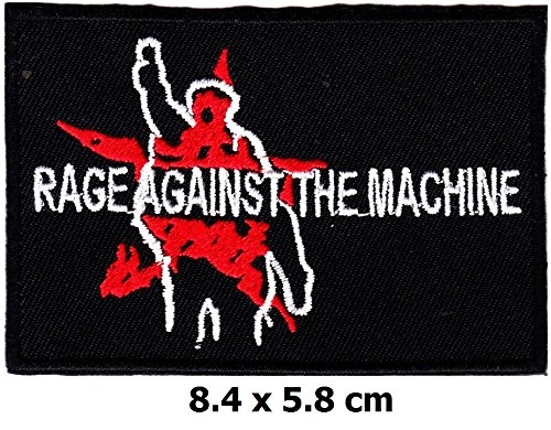 Rage Against the Machine patch Iron on Logo Vest Jacket cap Hoodie Backpack Patch Iron On/sew on pat