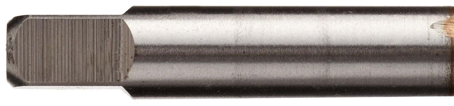 Round with Square End High-Speed Steel Spiral Point Tap Union Butterfield TN1585 Plug Chamfer UNC 7//16-14 Thread Size TiN Coated