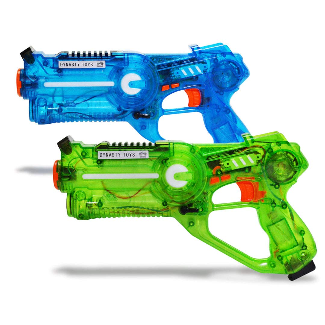 DYNASTY Yard Games for Summer - Infrared Laser Tag Single Blaster is...