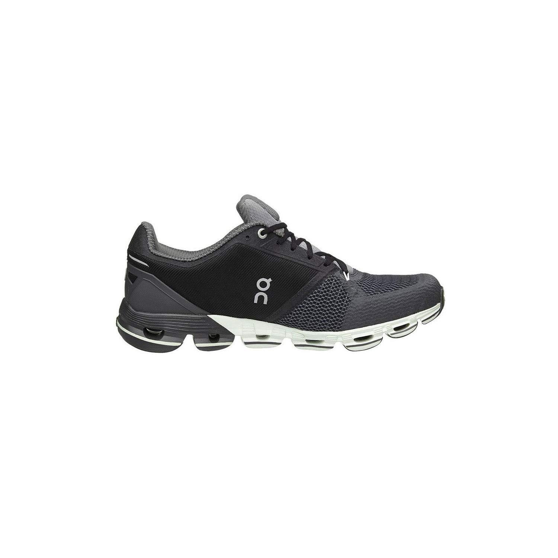 On-Running Mens Cloudflyer Black White Running Shoe – 11.5