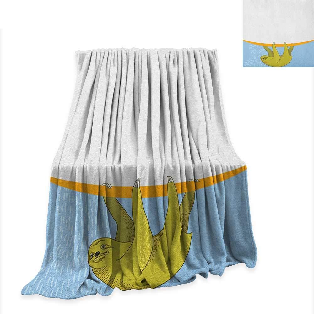 Amazon.com: Sloth Lightweight Blanket Sloth in Underwater ...