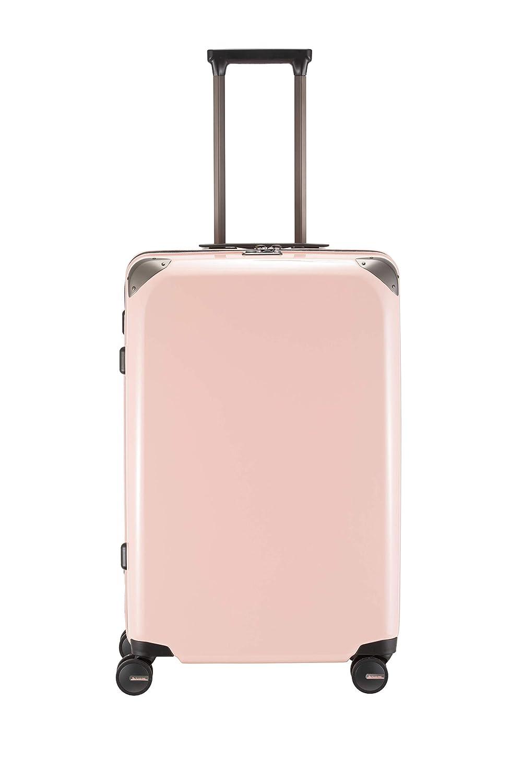 [プラスワン] スーツケース等 74L 66cm 4.2kg 195-66 B077PHSZP1 シフォン ピンク