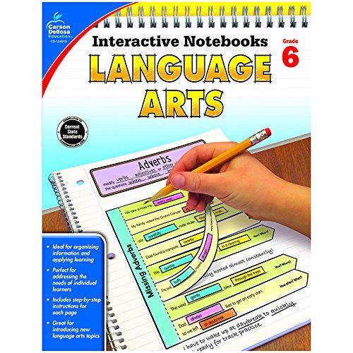 Amazon.com: Carson Dellosa Interactive Language Arts Notebooks ...