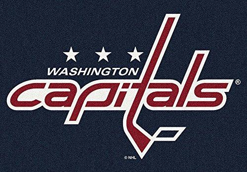 Washington Capitals 2 8  X 3 10  Team Spirit Area Rug