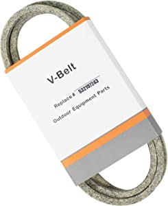 Yeerch 532197242 Mower Deck Belt Replaces 197242,71460096,336315 Deck Belt Fit 48