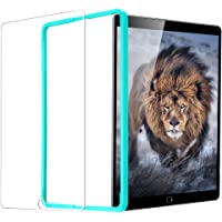 ESR iPad 9.7 iPad 2017/ iPad Air 2 / iPad Pro 9.7 / iPad Air Screen Protector, ESR HD Clear 9H Tempered Glass Screen Protector with Self-Installation Tool Anti-Scratch Anti-Fingerprint