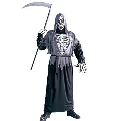 NET TOYS Disfraz Esqueleto Muerte Traje Halloween ángel de ...